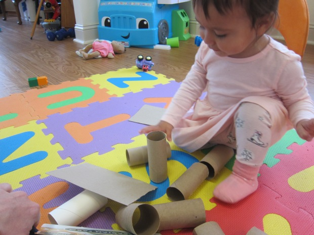 Toilet Paper Tube Towers (3)