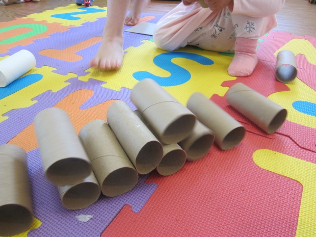 Toilet Paper Tube Towers (4)