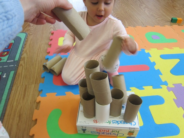 Toilet Paper Tube Towers (6)