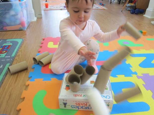 Toilet Paper Tube Towers (7)
