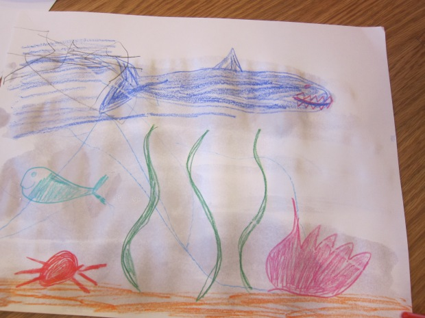 Watercolor Ocean Scene (3)