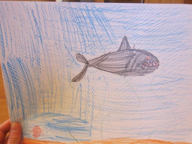 Watercolor Ocean Scene (5)