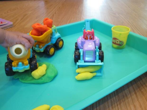Play Dough Construction Site (4)