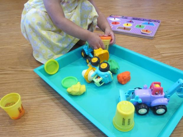 Play Dough Construction Site (6)