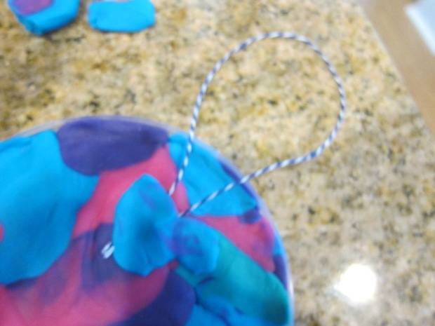 Playdough Suncatchers (9)