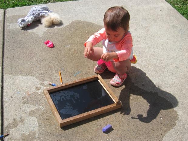 Tracing on Chalkboard (10)