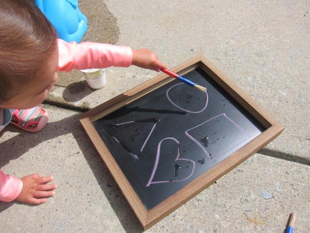 Tracing on Chalkboard (3)
