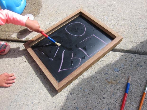 Tracing on Chalkboard (4)