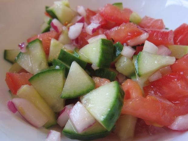 Cucumber Tomato Salad (2)