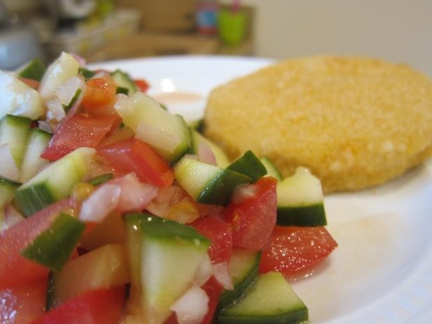 Cucumber Tomato Salad alt