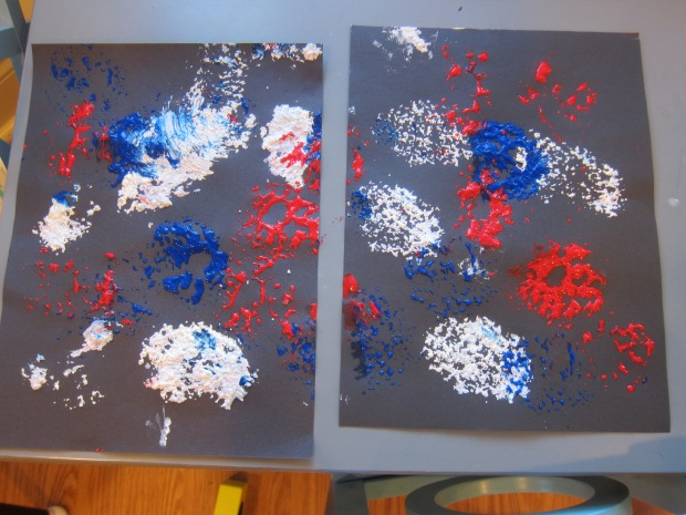 Fireworks Painting (7)