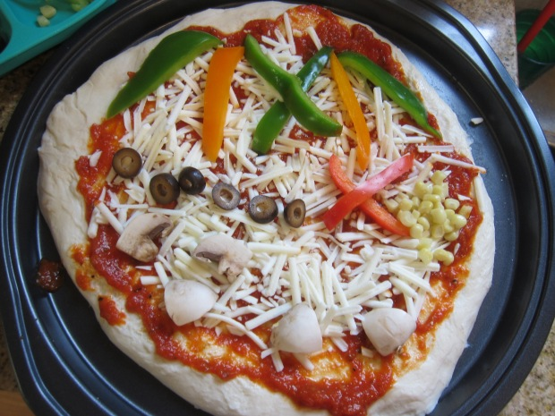 Treasure Map Pizza (4)