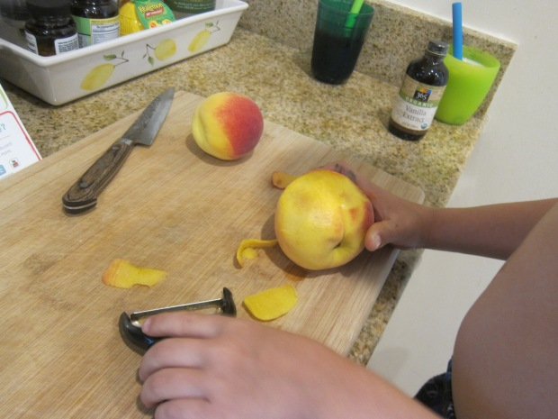 Vegan Peach Pancakes (2)