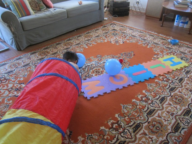 Activity Course with Balloons (7)