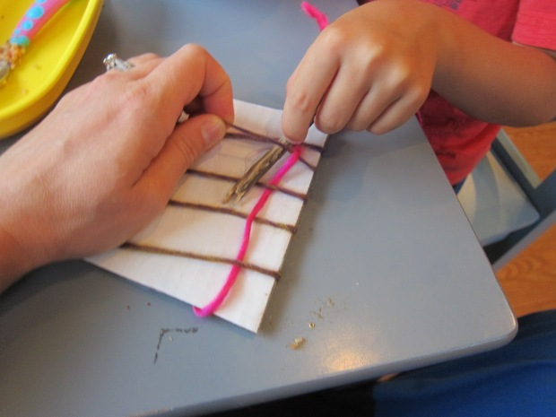 Cardboard Weave (3)