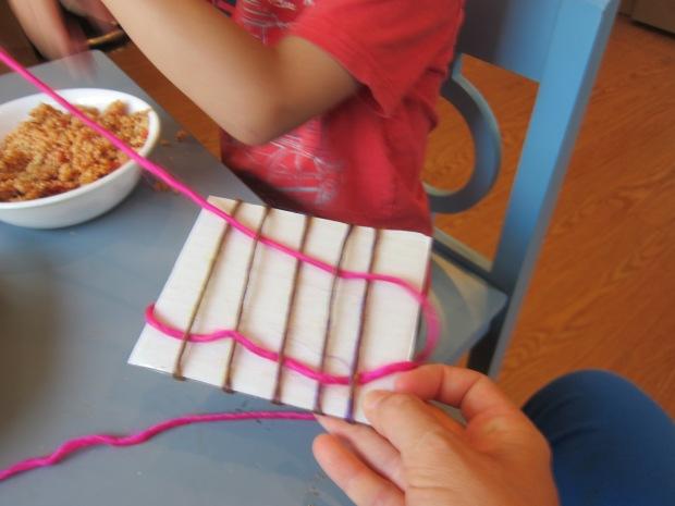 Cardboard Weave (4)
