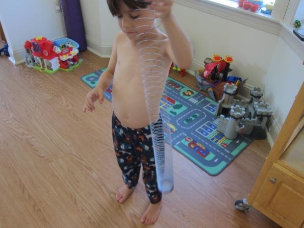 Levitating Slinky (2)