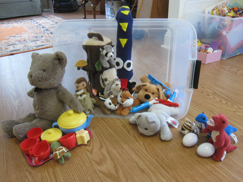 Activity Bin Stuffies (5)
