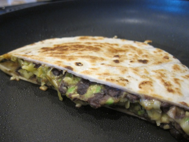 Bean and Avocado Quesadilla (2)