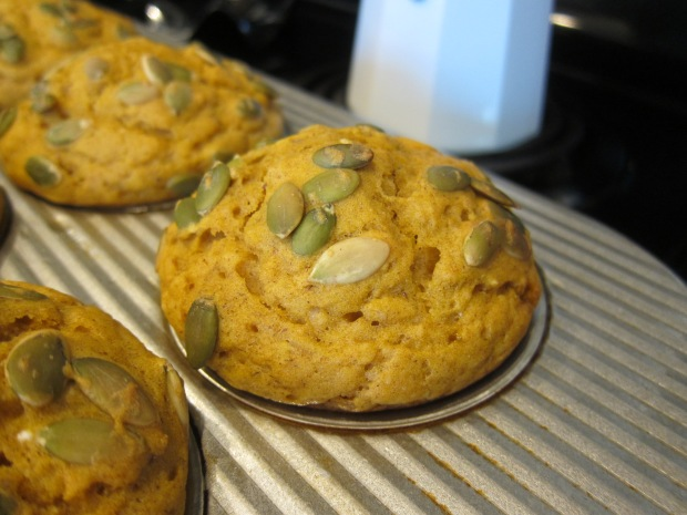 Double Pumpkin Muffins (2)