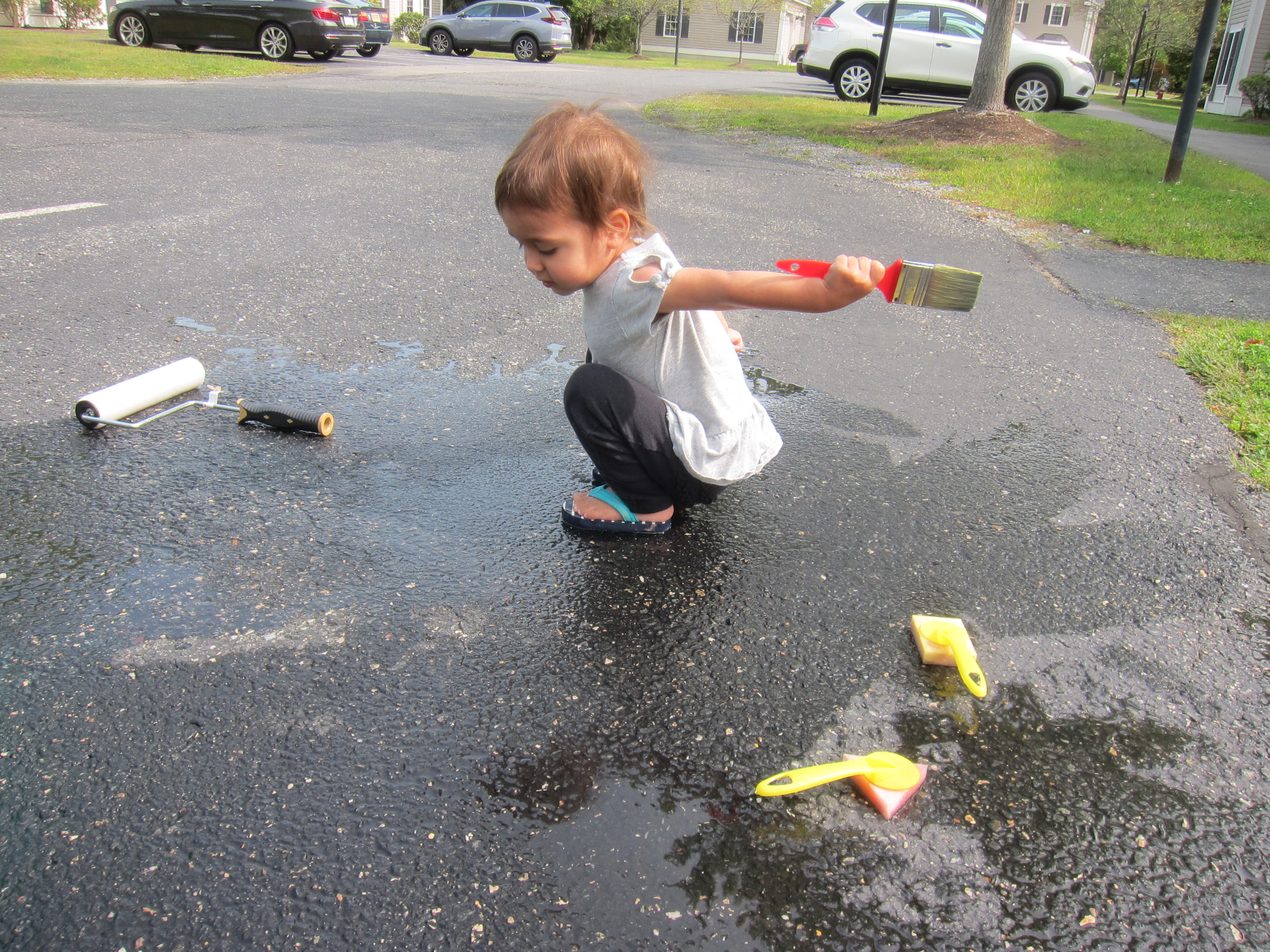 Paint the Driveway with Water (10)