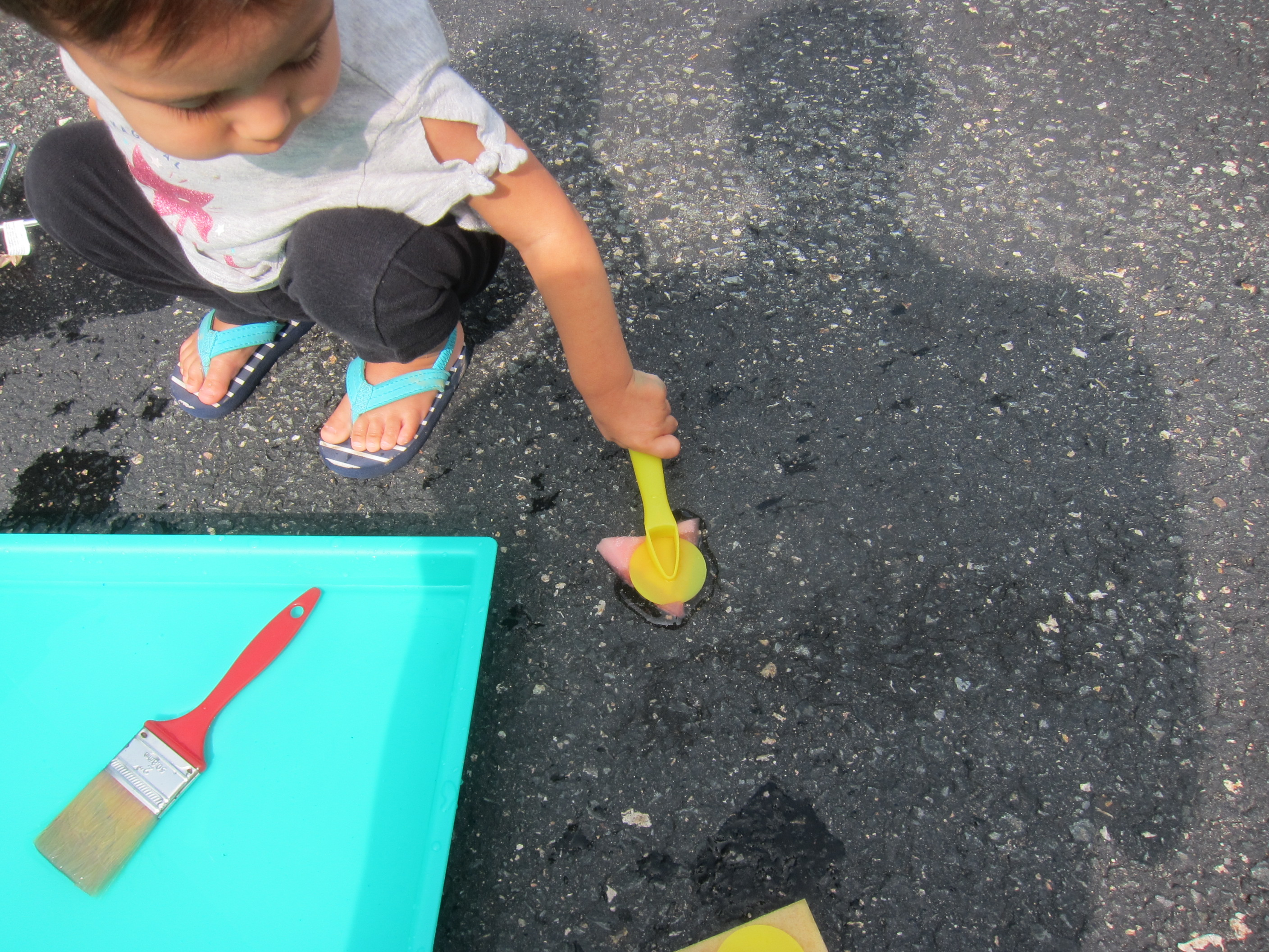 Paint the Driveway with Water (3)