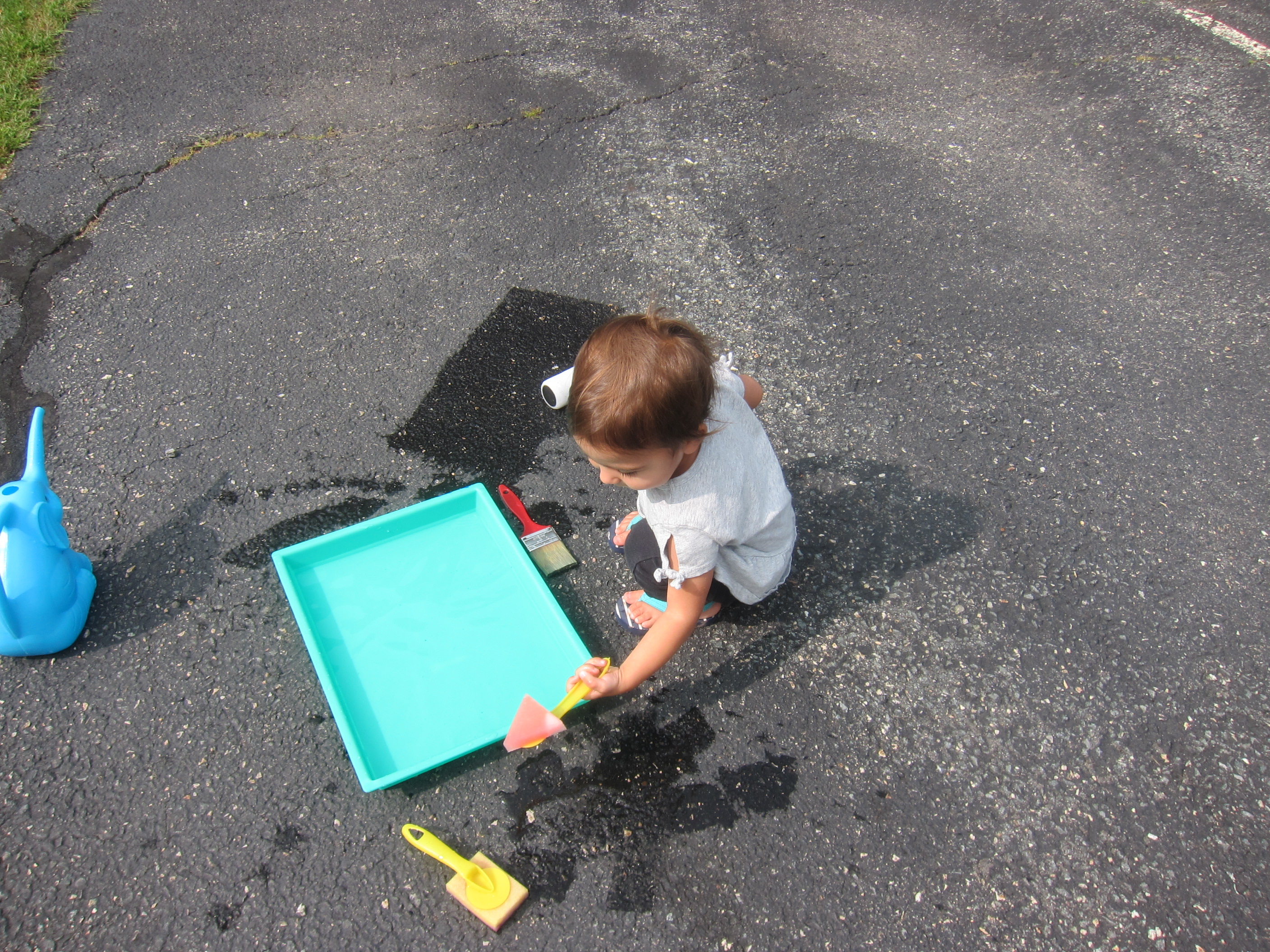 Paint the Driveway with Water (4)