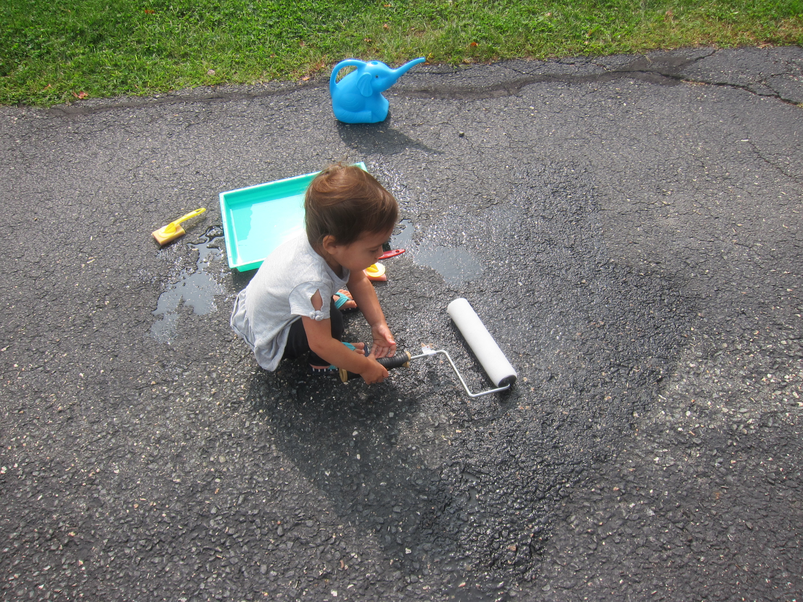 Paint the Driveway with Water (5)