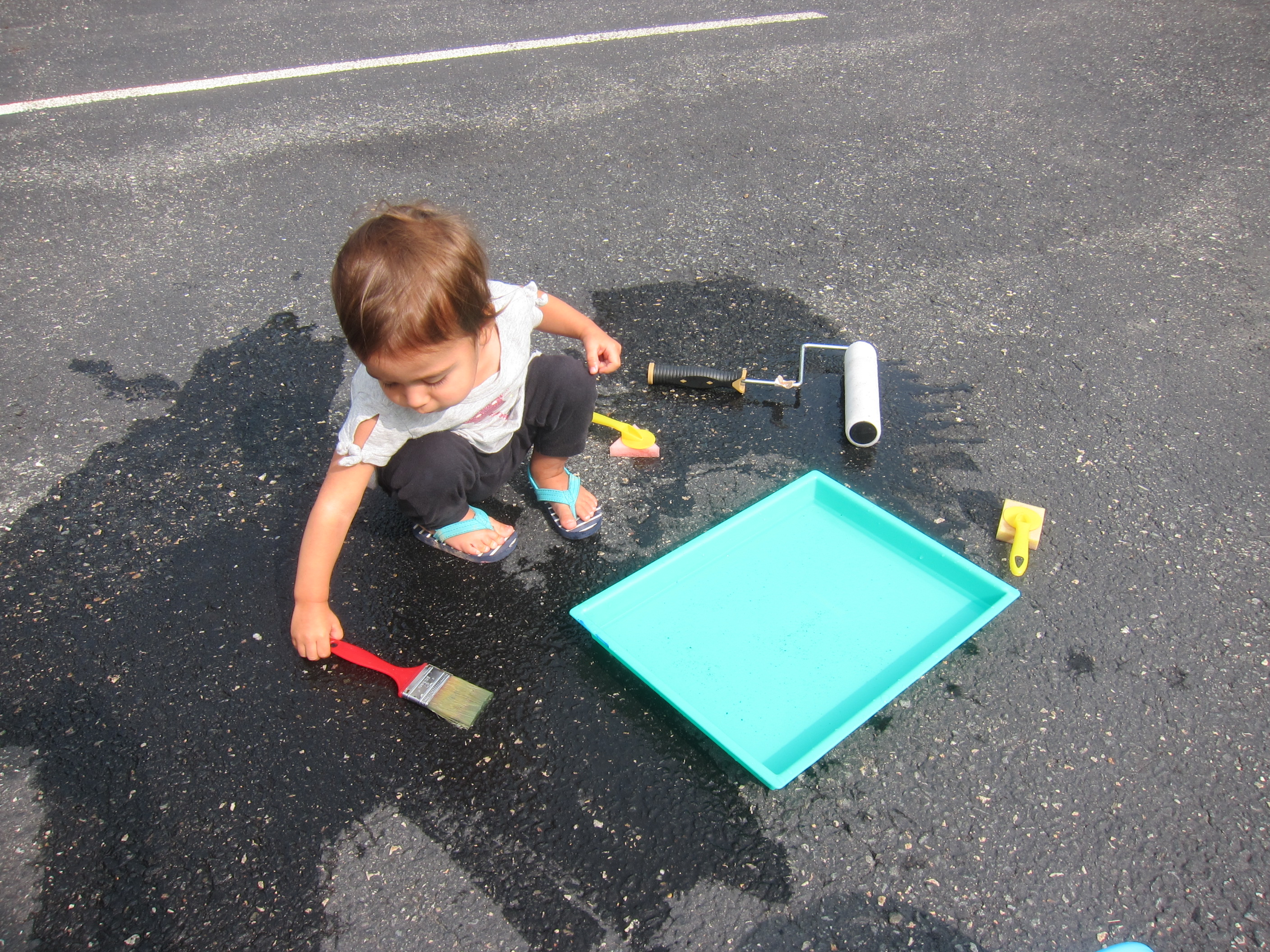 Paint the Driveway with Water (6)