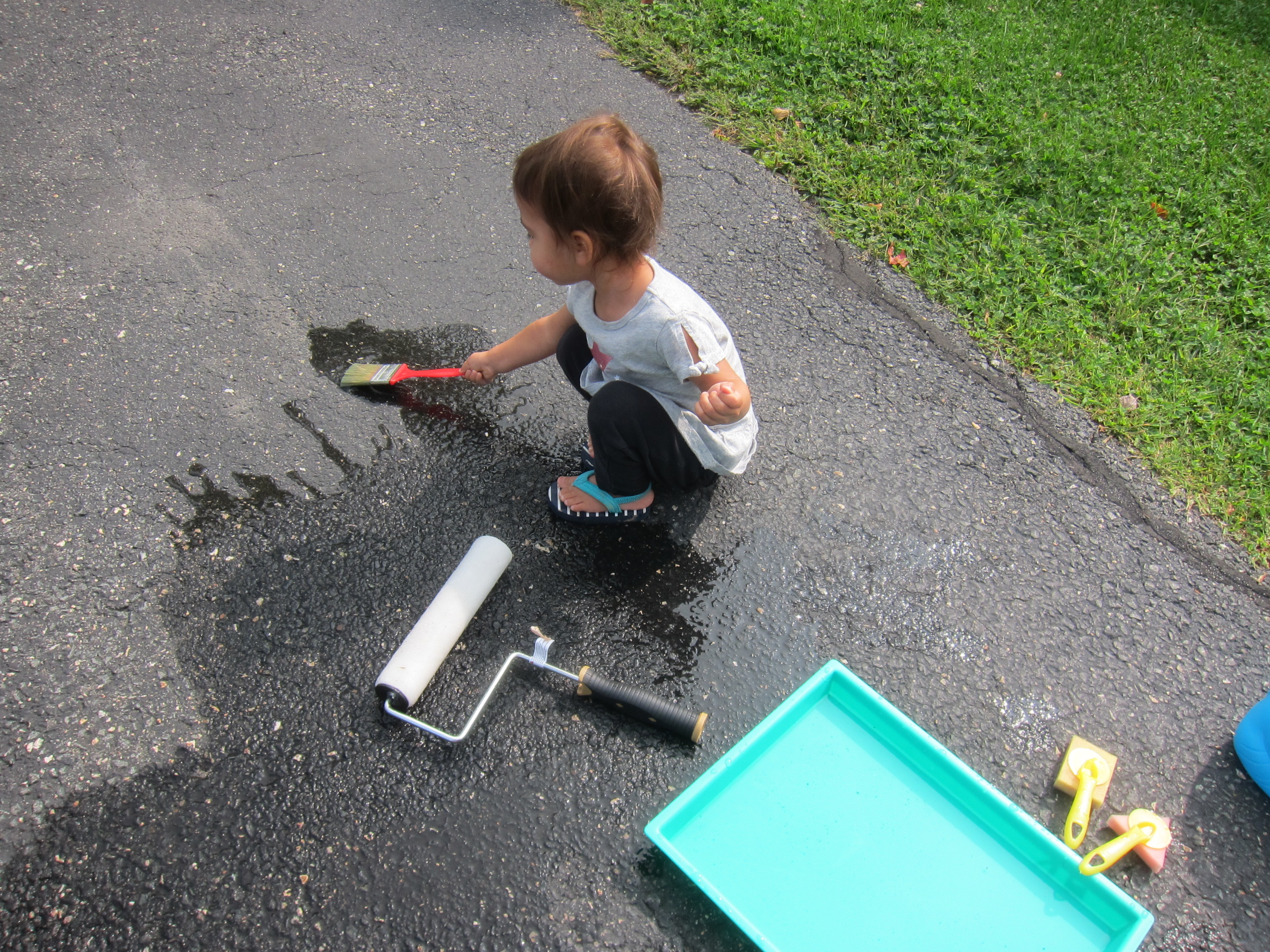 Paint the Driveway with Water (7)