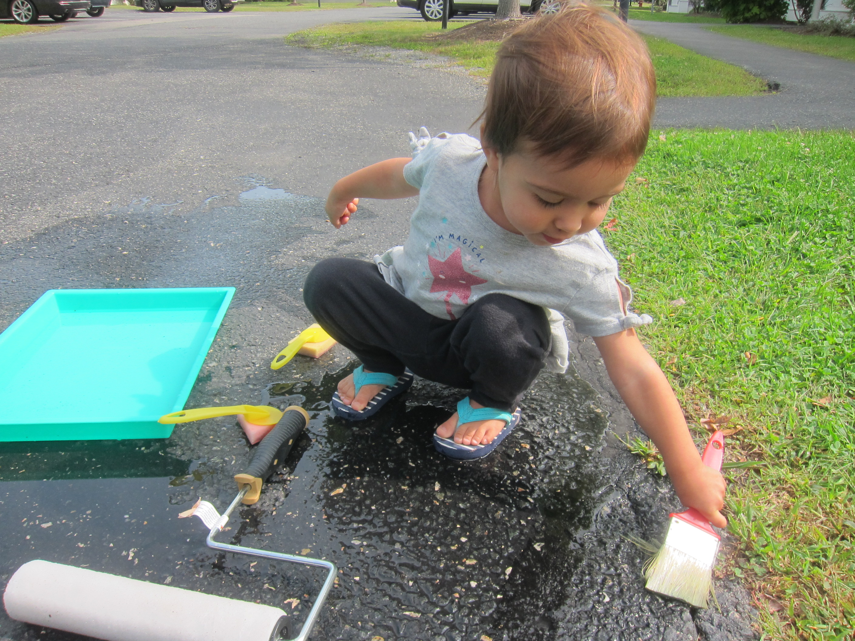Paint the Driveway with Water (9)