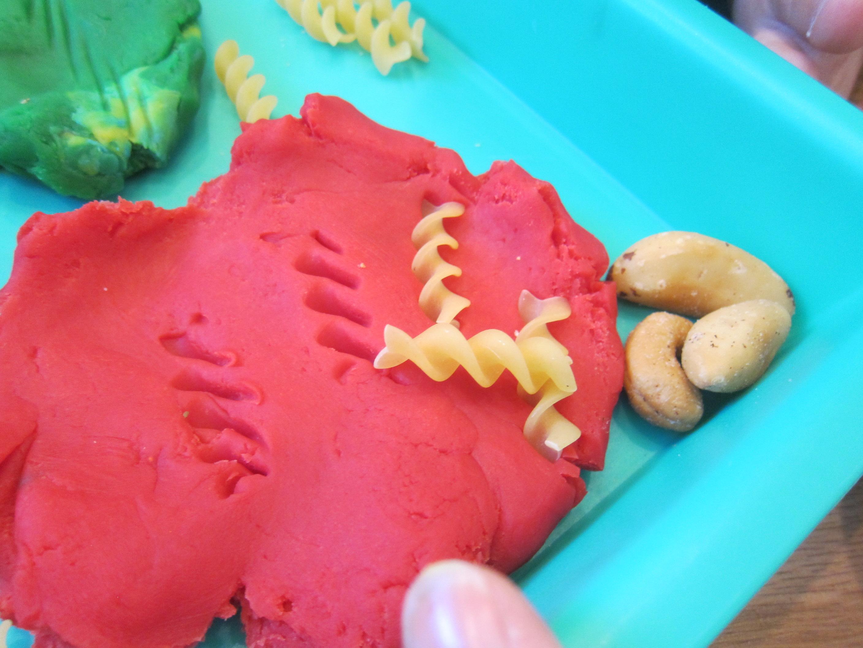 Play Dough Food Tracks (4)