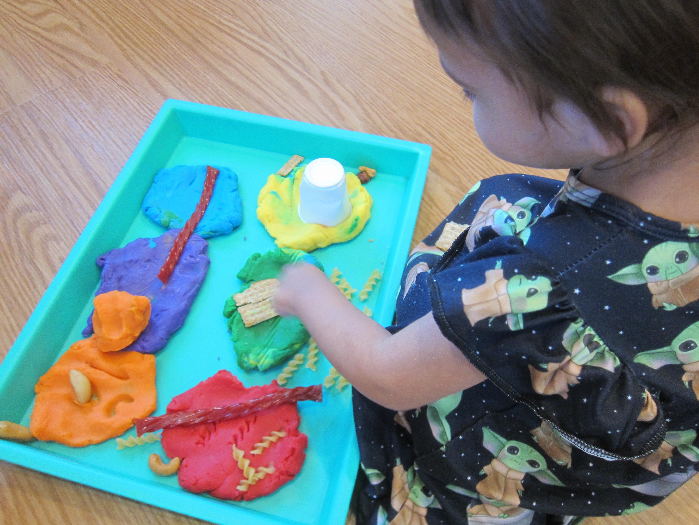 Play Dough Food Tracks (7)