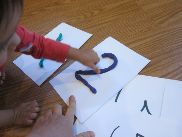 Playdough Numbers (3)