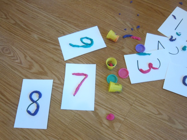 Playdough Numbers (6)