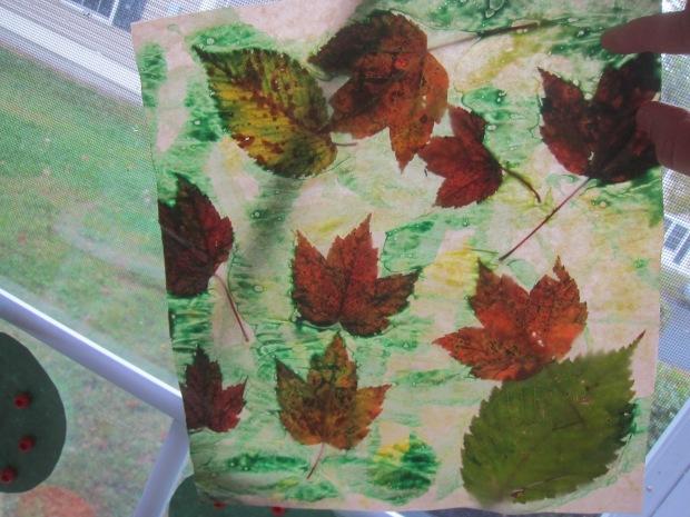 Wax Paper Art (5)