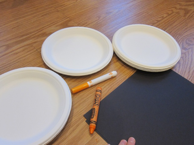 Halloween 3 Cute Paper Plates (1)