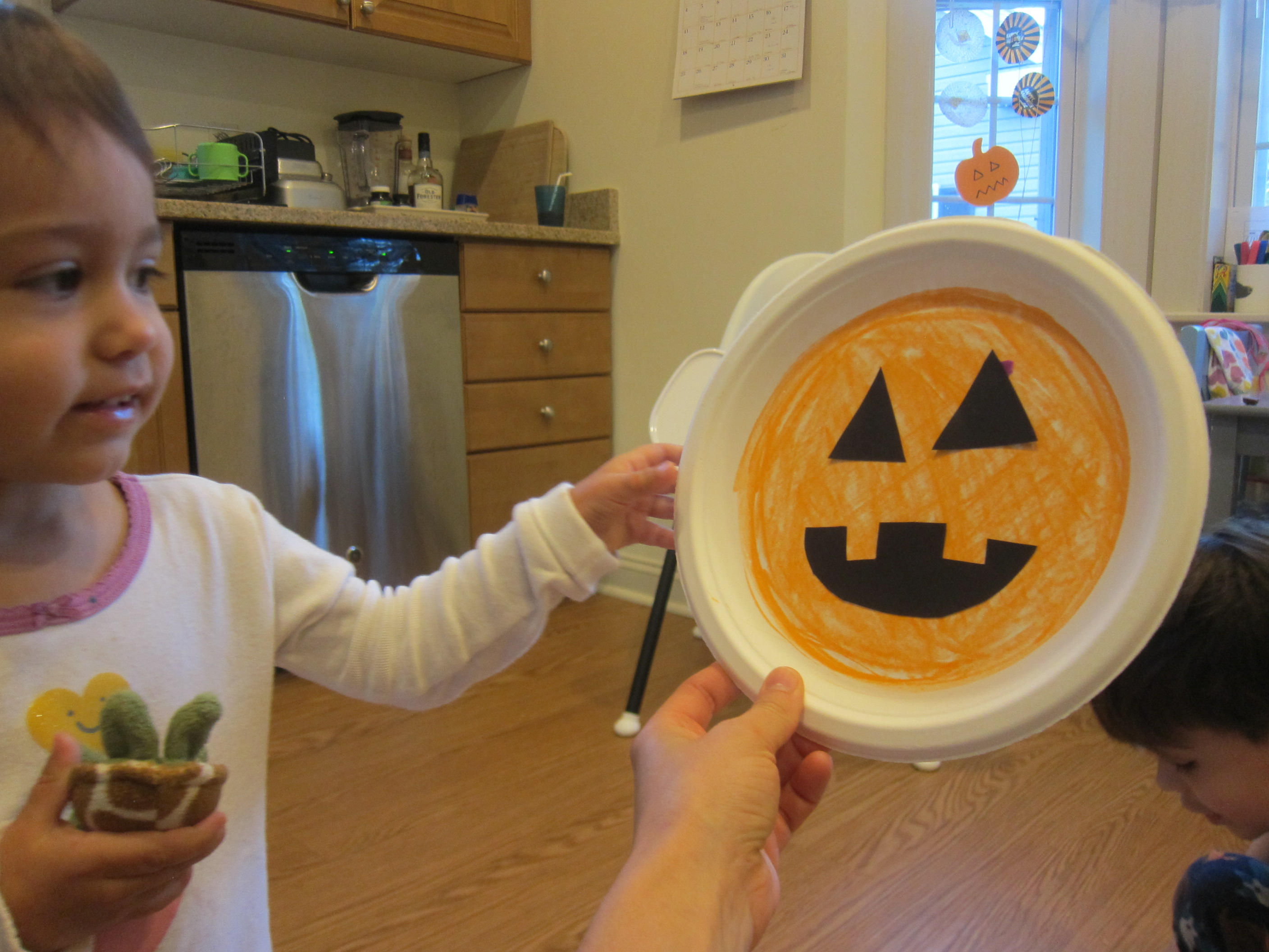 Halloween 3 Cute Paper Plates (4)