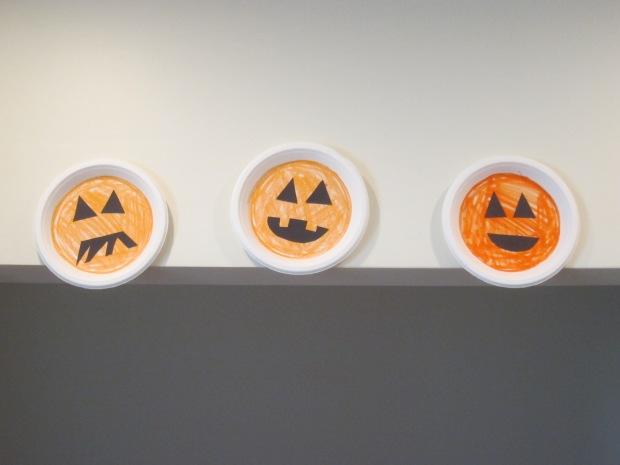 Halloween 3 Cute Paper Plates (5)