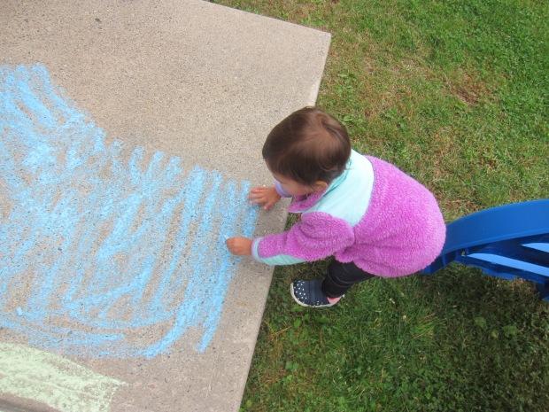 Halloween 5 chalk pumpkin (1)