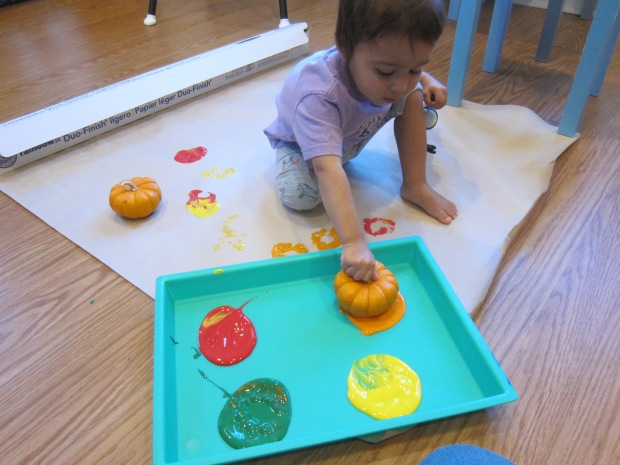Halloween 6 Paint with Pumpkins (5)