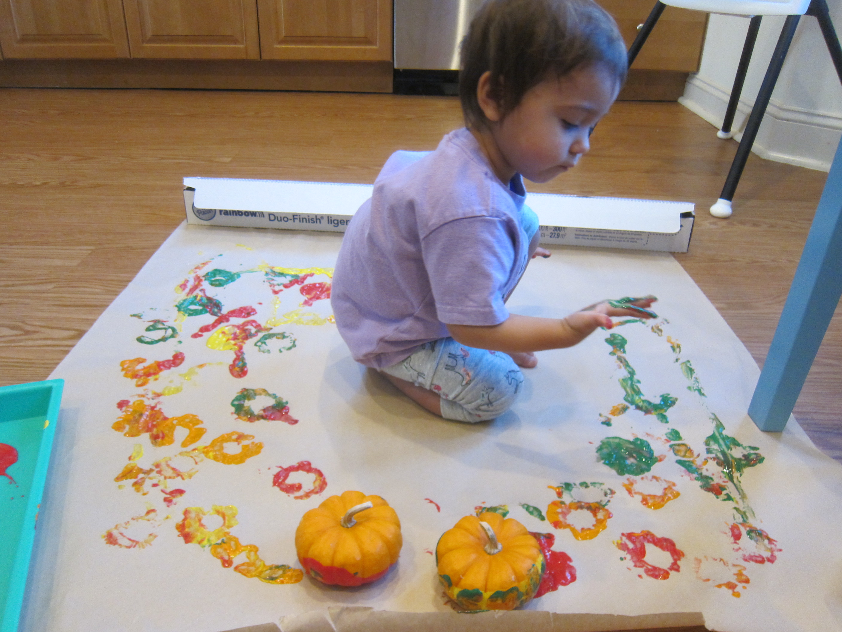 Halloween 6 Paint with Pumpkins (9)