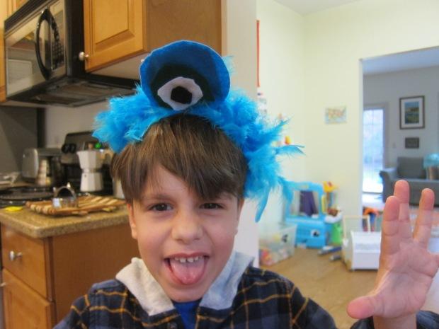 Monster Headbands (4)