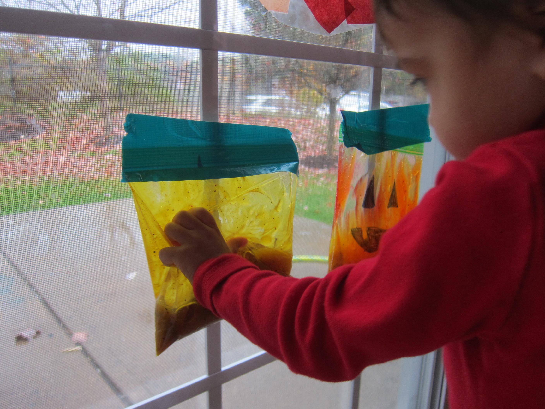 Orange Leaf Bag (8)