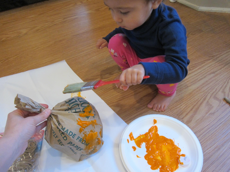 Paper Bag Pumpkins (2)