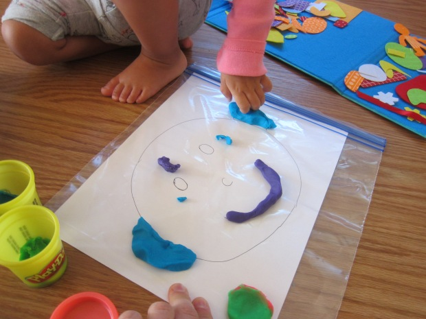 Playdough Faces (4)