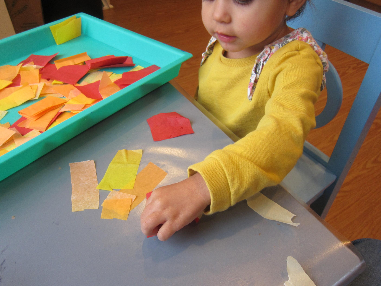 Pumpkin Art for Toddler (4)