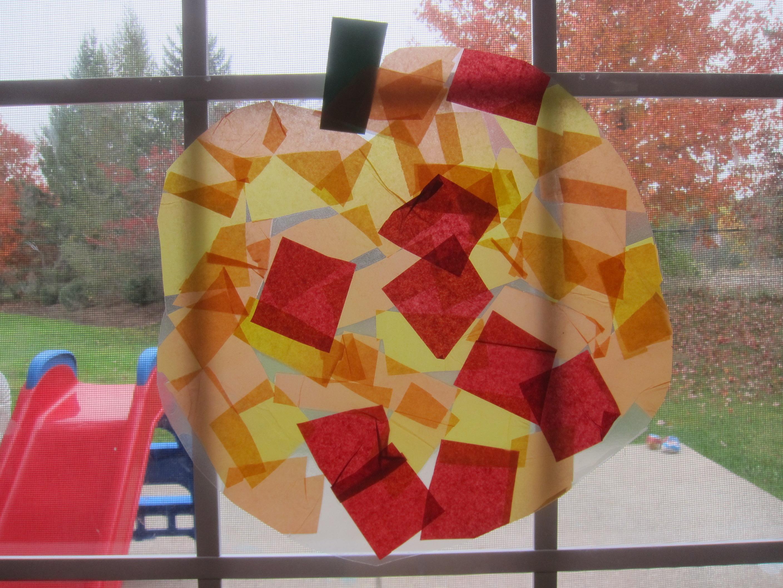 Pumpkin Art for Toddler (7)