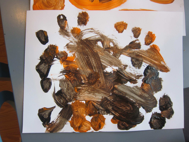 Pumpkin Art for Toddlers (8)