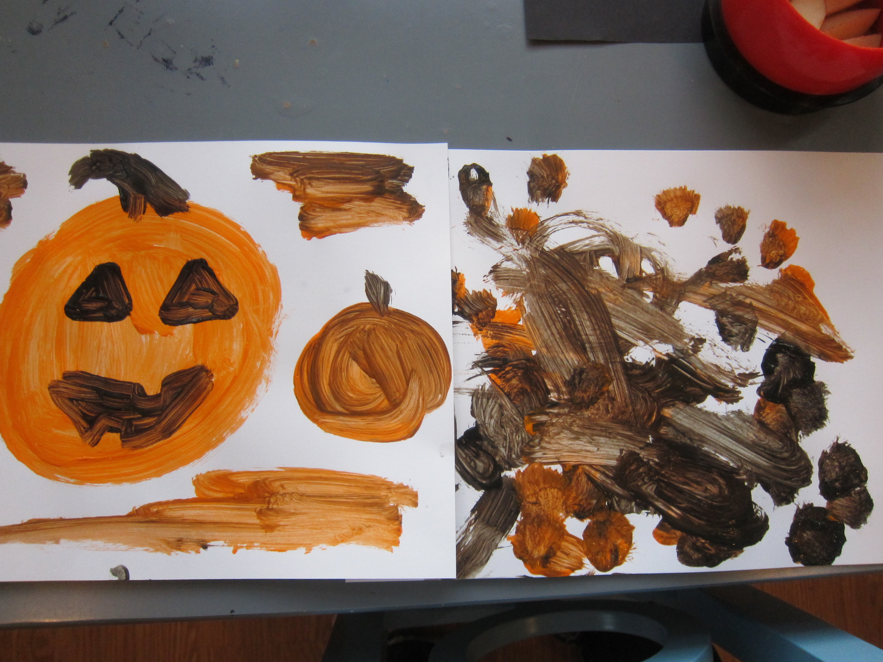 Pumpkin Art for Toddlers (9)